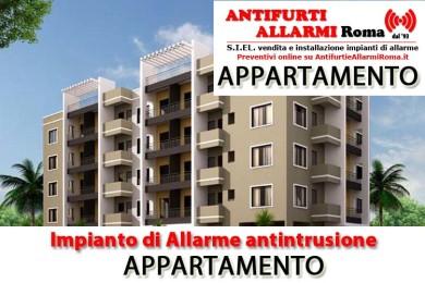 IMPIANTO DI ALLARME ANTIFURTO APPARTAMENTO ROMA