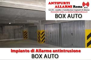 Impianto Antifurto Allarme Box auto Roma