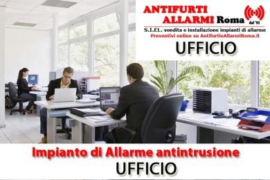 IMPIANTO DI ALLARME ANTIFURTO UFFICIO ROMA
