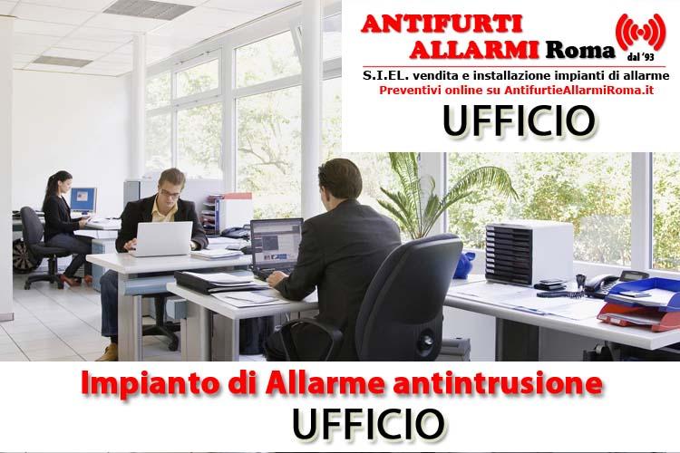 Impianto di allarme antifurto ufficio roma antifurti e allarmi roma - Costo impianto allarme casa ...