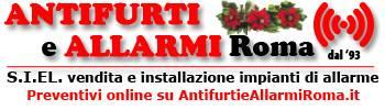 logo Antifurti e Allarmi Roma